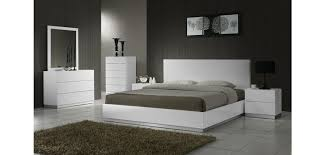 Contemporary Platform Bedroom Sets MonclerFactoryOutletscom - White high gloss bedroom furniture set