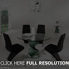furniture pleasing modern glass dining table sets excellent