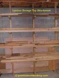 how to make a lumber storage rack workshop lumber racks
