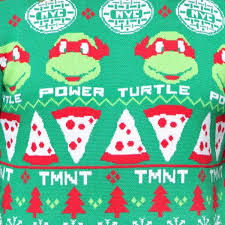 christmas jumper mutant turtles sweatshirt christmas jumper