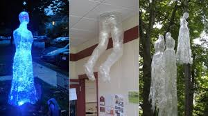 Scary Halloween Decorations Ideas by Diy Ideas How To Make Scary Halloween Decorations With Trash Bags