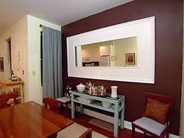 How To Hang A Large Bathroom Mirror - how to frame a mirror hgtv