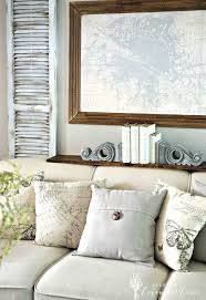 adding faux painted shutters u0026 french rustic touches behind the