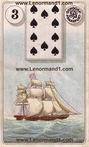 lenormand cards meaning the ship software for card reading