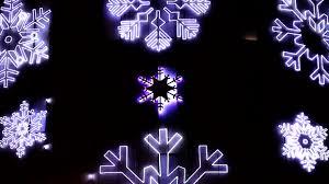Blue Snowflakes Decorations Led Christmas Snowflakes Decorations Detail Christmas Decorations