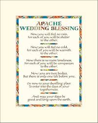 wedding blessing apache wedding blessing wedding blessing print