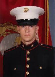marine fights to wear dress blues at high graduation l a