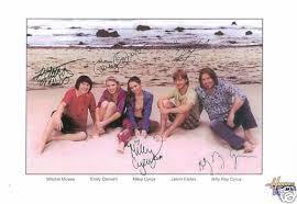 hannah montana cast signed autographed rp miley cyrus for sale
