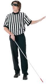 Blind Man Cane Blind Referee Halloween