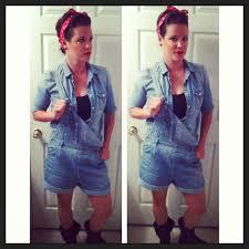Rosie Riveter Halloween Costume Leah Lou Creative Space Strengthen Sense