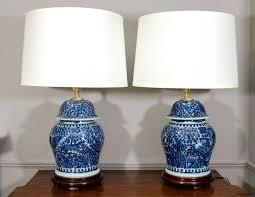 white ginger jar l ginger jar table ls large blue and white for vintage l home