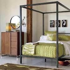 Metal Canopy Bed West Elm Metal Canopy Bed 500 Apartment Therapy
