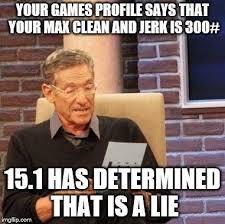 Funny Crossfit Memes - october 12th crossfit kaiju
