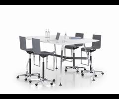 Vitra Conference Table Ad Hoc High Meeting Table Rectangular Cube Gallery