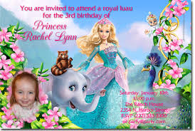 barbie birthday invitations candy wrappers thank you cards