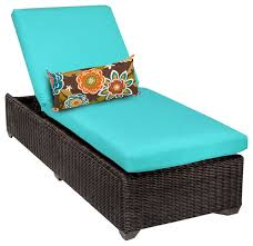 Outdoor Chaise Lounges Rustico Outdoor Wicker Chaise Tropical Outdoor Chaise Lounges