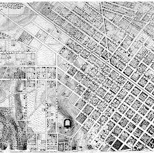 Richmond Va Map 1867 Engineers Map Of Richmond