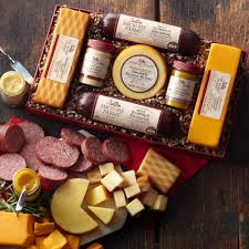 summer sausage gift basket summer sausage and cheese gift box gift purchase our gourmet
