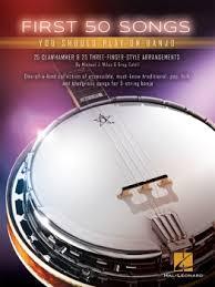 50 songs for banjo