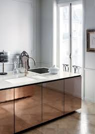 Metal Kitchen Cabinet Doors 5 Stylish Kitchen Designs Dust Jacket Copper Taps Stylish