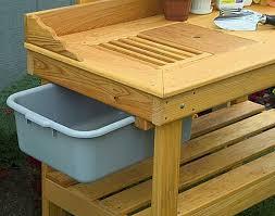 Garden Potting Bench Ideas Potting Table Best 25 Potting Benches Ideas On Pinterest Potting