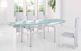 glass top dining tables for an elegant feeling