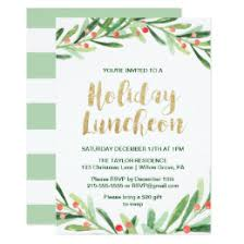 christmas lunch invitation christmas lunch invitations announcements zazzle