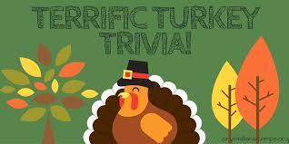 terrific turkey trivia lake cs