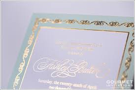 gold wedding invitations mint and gold wedding invitations gourmet invitations