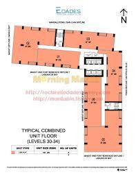 manila philippines manila makati fort bonifacio ortigas condo typical combined units floor plan