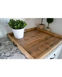 Ottoman Tray Amazing Deal On Xlg 24x24 Ottoman Tray Reclaimed Wood Coffee