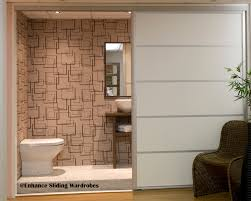 sliding door room dividers extra wide white sliding doors used as a room divider for an