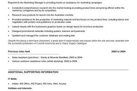 Sample Resume For Marketing Assistant by Marketing Assistant Resume Sample Reentrycorps