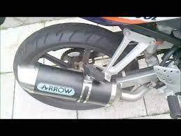 Honda Cbr 125 R Arrow Exhaust Youtube