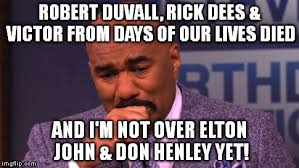 Days Of Our Lives Meme - steve harvey cries imgflip