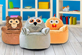 kid u0027s animal beanbag chair