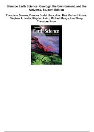 glencoe earth science geology the environment and the universe studen u2026