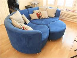 furniture magnificent curved couches for small spaces circular