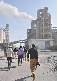 cement factory cement factory in nooriabad shut down for polluting environment