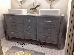 Dresser Vanity Bedroom Best 25 Dresser Bathroom Vanities Ideas On Pinterest Dresser