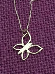 butterly necklace small butterfly jewelry sterling silver