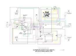 vespa p125x wiring diagram wiring diagram and schematic