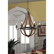 Vineyard Oil Rubbed Bronze 6 Light Chandelier Amazon Com