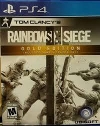 Buy Rainbow Six Siege Gold Ubisoft Montreal Tom Clancy S Rainbow Six Siege Ps4 Pro Support