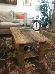 Barn Board Coffee Table Table Gallery Our Upcycled Recycled Pieces Regarding Elegant House