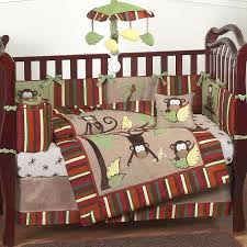 Monkey Crib Bedding Sets Disney Baby Boy Crib Bedding Ideas In Decorating Baby Boy Crib