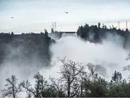 oroville dam crisis eases emergency spillway repairs in progress