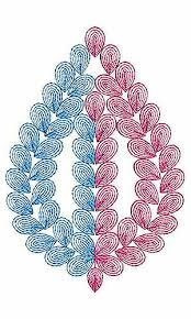 design embroidery chain stitch embroidery design