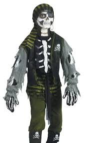 Childrens Scary Halloween Costumes Fun Kids Boys Scary Skeleton Zombie Pirate Halloween Costume