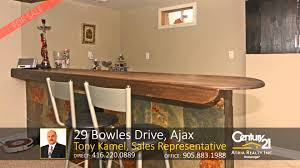29 bowles drive ajax home for sale by tony kamel sales